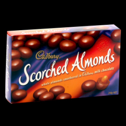 cadbury scorched almonds 240g